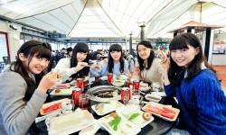 東京女子流 ファンと一緒に初の大忘年会を関西で開催!