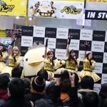 バリィさんが踊った!!「バリキュン!!」初のライブパフォーマンス敢行!!