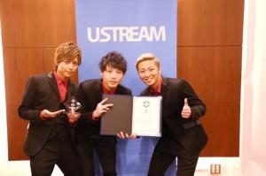 Ustream大賞7位.Daice