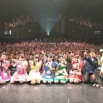 チームしゃちほこ、2400人のバカボンのパパと映画公開記念プレパーティ開催!