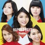 9nine「HAPPY 7 DAYS」通常盤