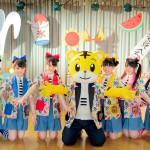 チームしゃちほこ、しまじろうとコラボした新曲『「じりじり夏活委員会 feat.しまじろう」MV公開!