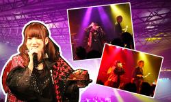 元SUPER☆GiRLS八坂沙織、初のソロバンドライブ大成功。